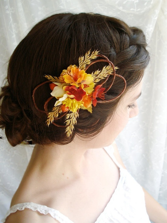 Feminine Fall Wedding Hairstyles