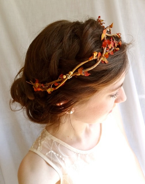 Picture Of Feminine Fall Wedding Hairstyles