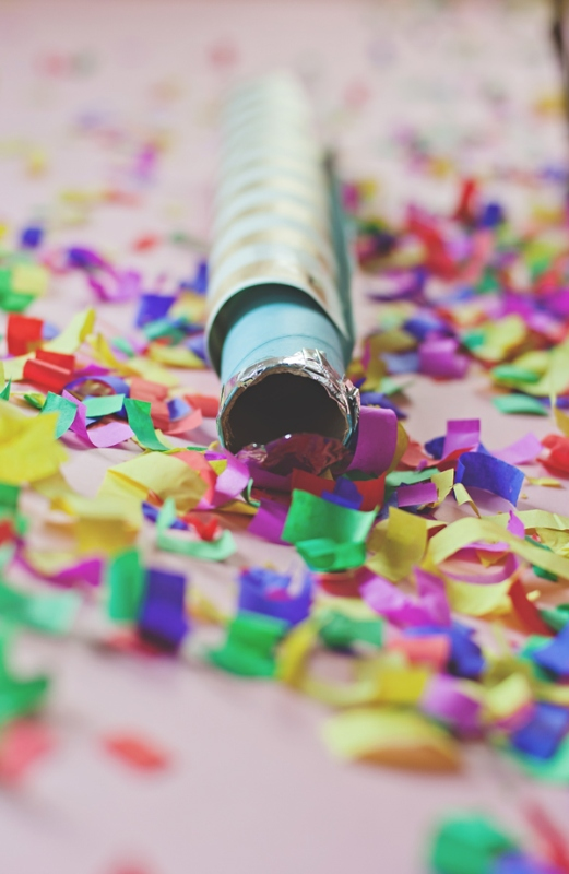 Picture Of Festive Diy Confetti Cannon Blasters For Your