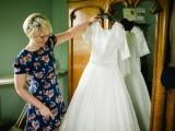 Flirty And Fun 50s Themed Wedding In Emerald Green