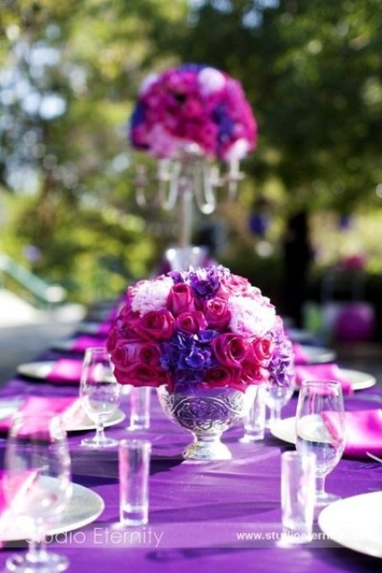 Floral Centerpieces For Spring Weddings