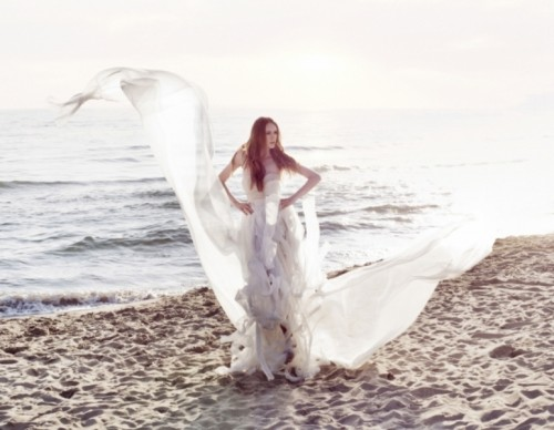 Flowing Romantic And Feminine Wedding Gowns By Leila Hafzi