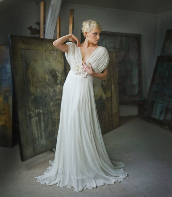 Flowing Wedding Gowns