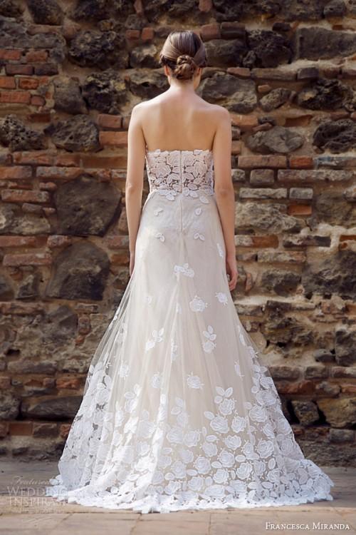 Francesca Miranda Fall 2014 Lace Bridal Collection