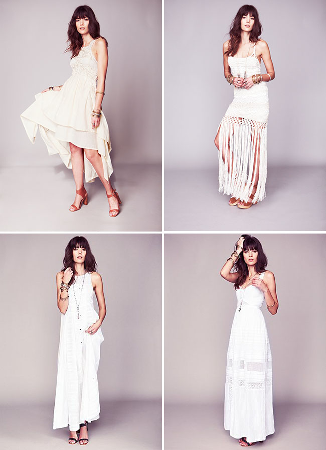 Free People Wedding Dresses For A Relaxed Wedding