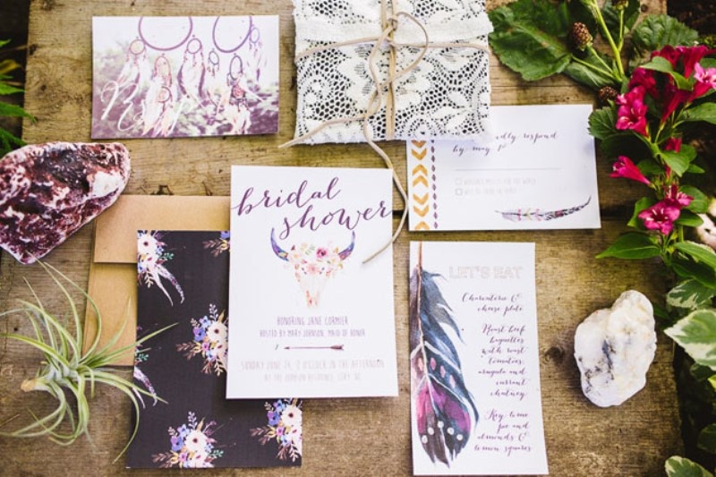 Picture Of free spirited bohemian lakeside bridal shower  1