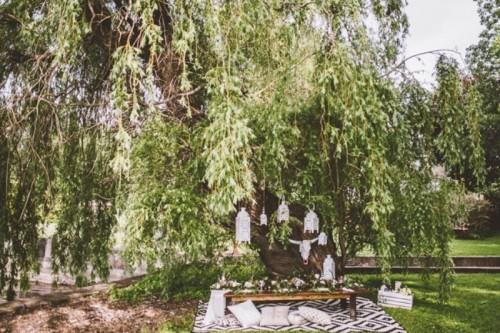 Free Spirited Bohemian Lakeside Bridal Shower