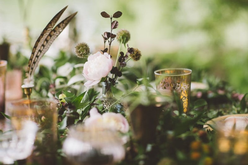 Picture Of free spirited bohemian lakeside bridal shower  7