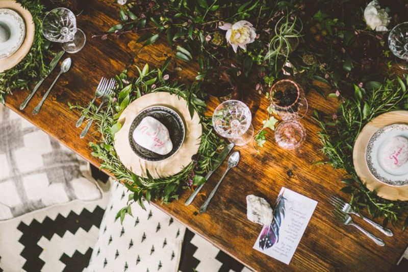 Picture Of free spirited bohemian lakeside bridal shower  8