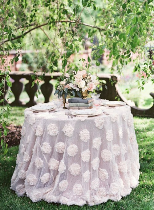 Fresh Bridal Shoot With Lush Florals And Pastels