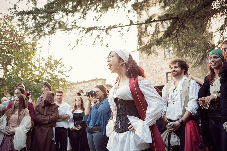 Picture Of fun and creative pirate wedding in italy  10