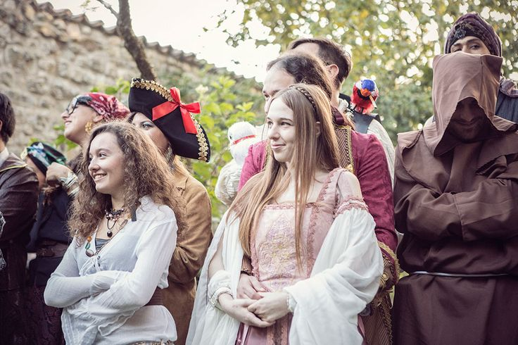 Picture Of fun and creative pirate wedding in italy  8