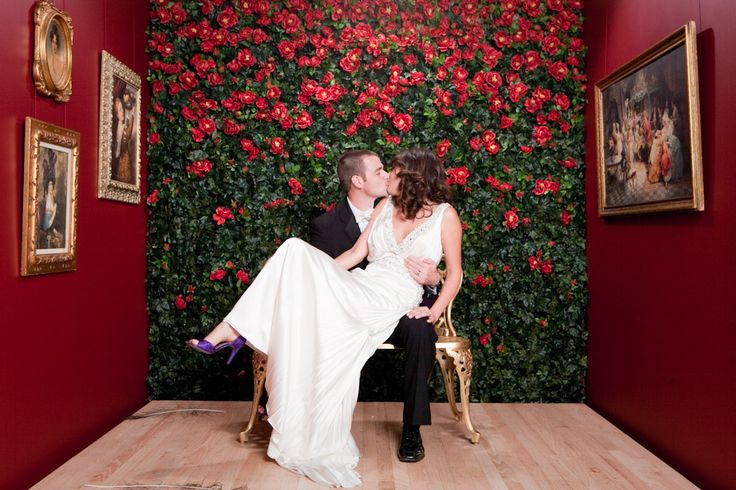 Picture Of fun and creative wedding reception backdrops youll love 19