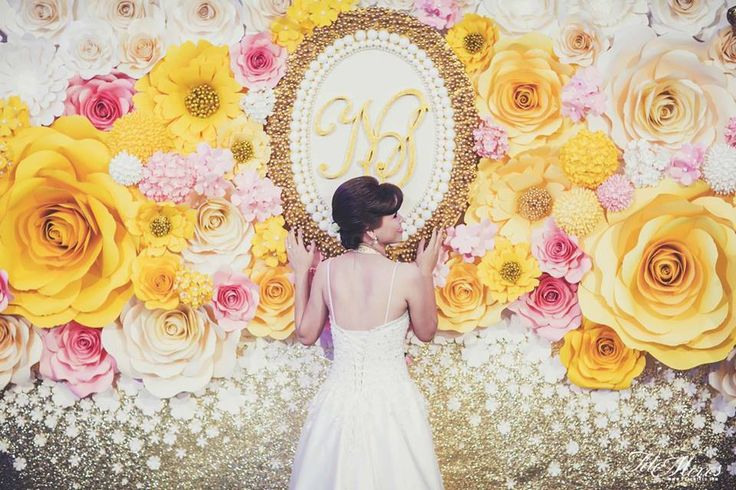 30 Fun And Creative Wedding Reception Backdrops You\'ll Love ...