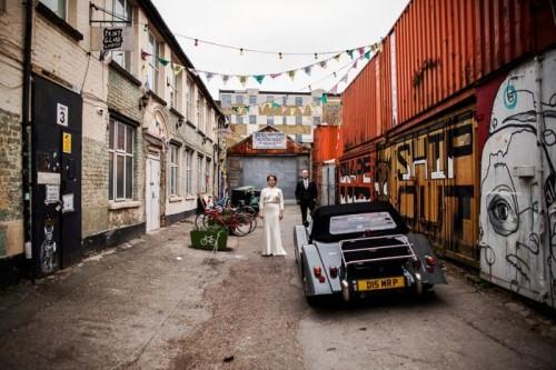 Fun And Quirky London Wedding At MC Motors