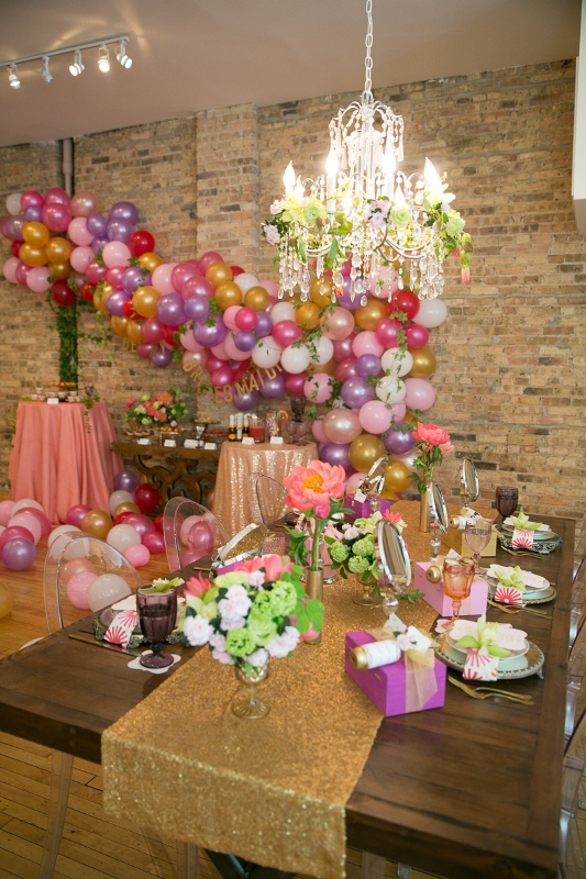 Picture Of fun be my bridesmaids beauty bash for a bridal shower  10