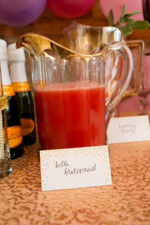 "Fun ""Be My Bridesmaids"" Beauty Bash For A Bridal Shower"