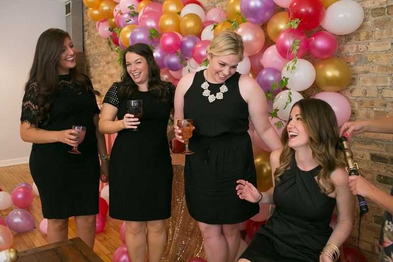 Picture Of fun be my bridesmaids beauty bash for a bridal shower  16