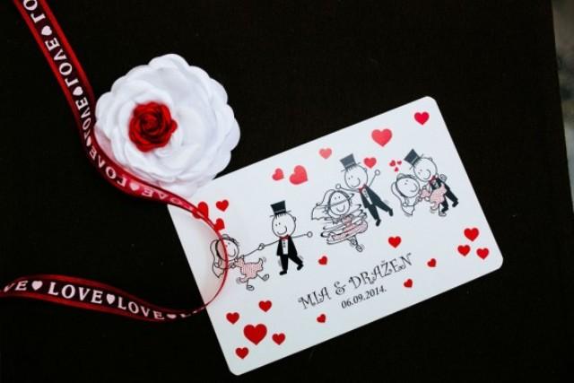 Picture Of fun pin up polka dot wedding in croatia  4