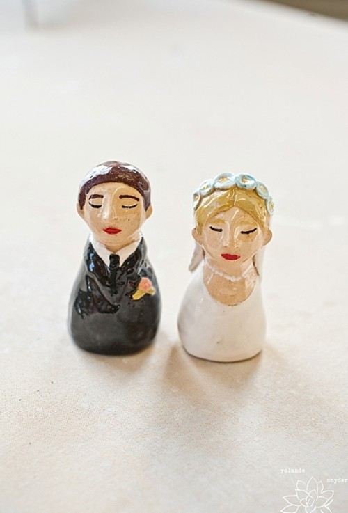 Funny Cake Toppers By Sessi Bee Ceramics