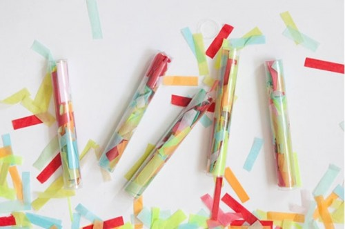 Funny Diy Confetti Throwers For Your Wedding Party