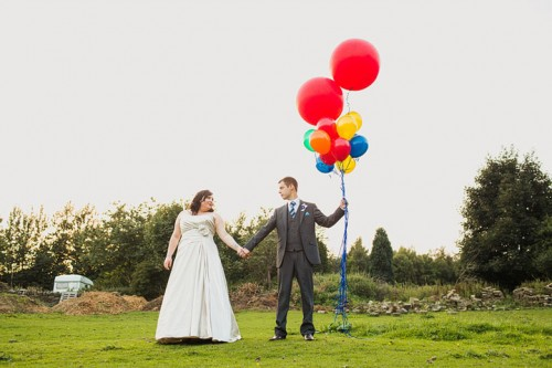 Funny Handmade Wedding With Colorful Touches