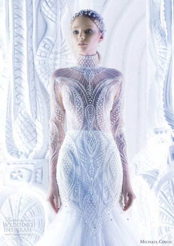 Picture Of Futuristic Sci Fi Wedding Inspiration