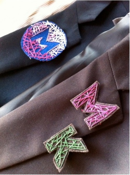 Geometric And Stylish Diy String Art Boutonnieres