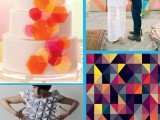 Geometric Shapes Wedding Ideas