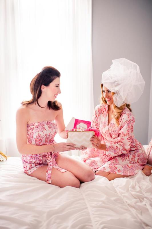 Picture Of girly and cheerful will you be my bridesmaid slumber party  14