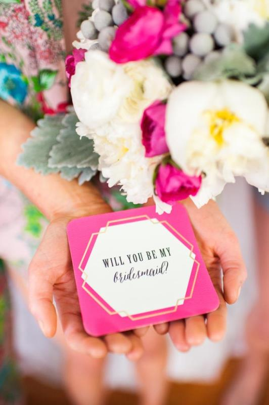 Picture Of girly and cheerful will you be my bridesmaid slumber party  3