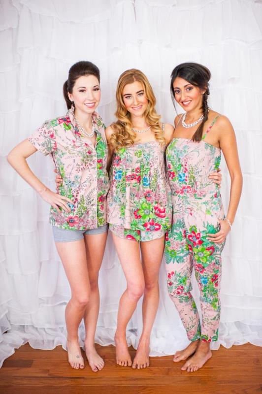 Picture Of girly and cheerful will you be my bridesmaid slumber party  6