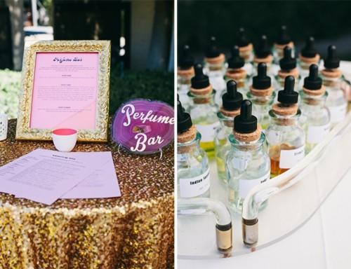 Glamorous And Vivid Pink Palm Springs Wedding