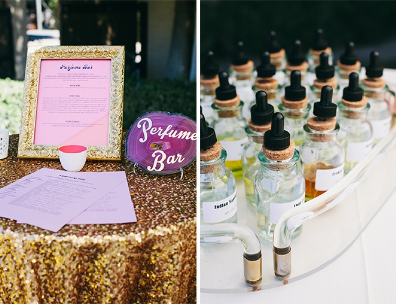 Picture Of glamorous and vivid pink palm springs wedding  17
