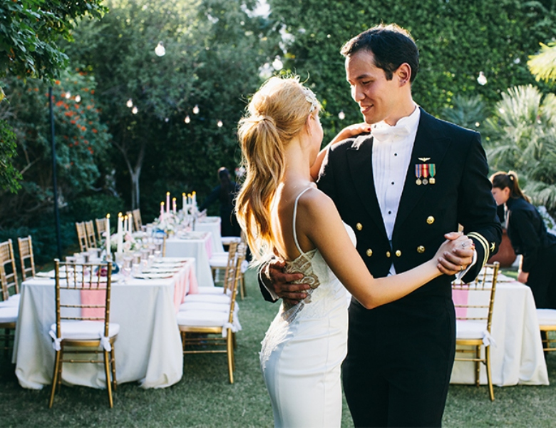 Picture Of glamorous and vivid pink palm springs wedding  22
