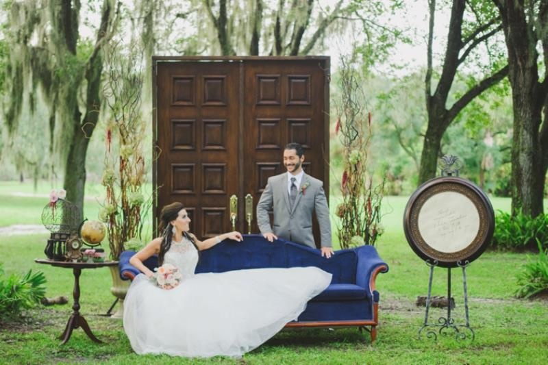 Picture Of glamorous labyrinth inspired wedding inspiration  24