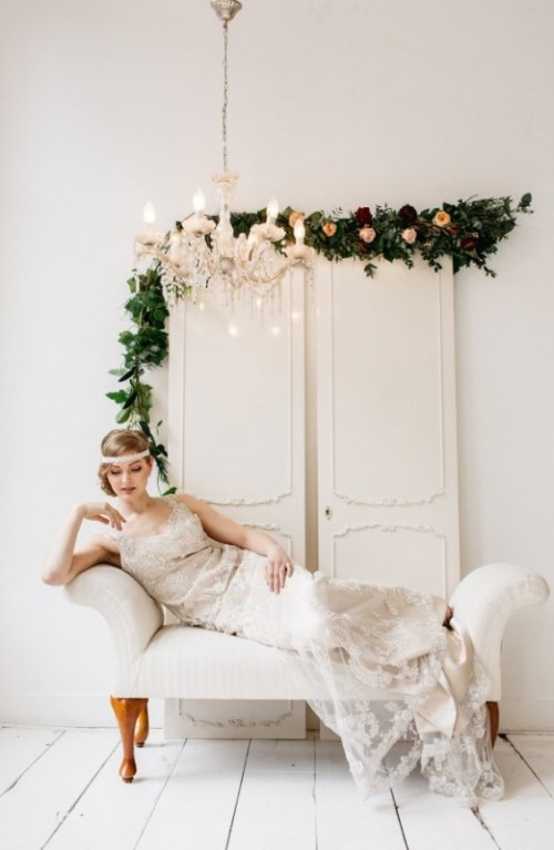 Glamorous Pastel Wedding Inspiration With A Hint Of Retro
