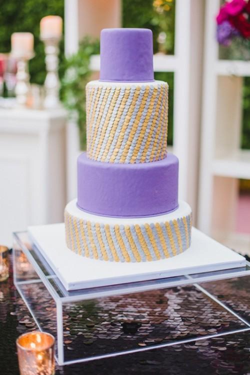 Glamorous Red And Purple Wedding Inspiration