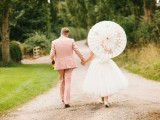 Glamorous Retro Picnic Wedding Party