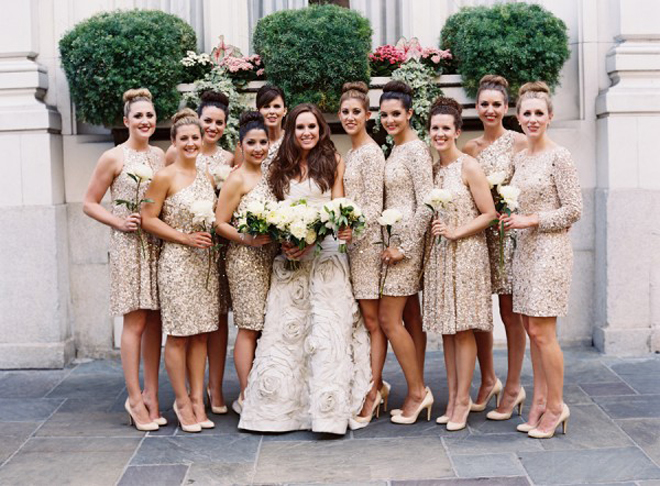 Brides Maid Wedding Dresses 37 Stunning Glamorous Sequin Bridesmaid Dresses
