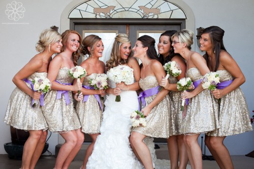 The Hottest Wedding Trend: 16 Glamorous Sequin Bridesmaid Dresses