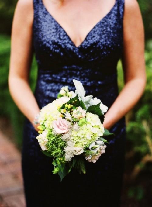 Glamorous Sequin Bridesmaid Dresses