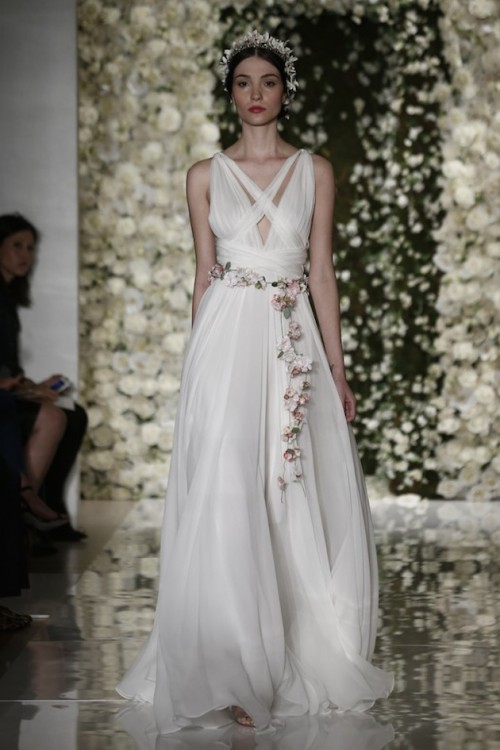 Glorious Reem Acra Fall 2015 Bridal Collection