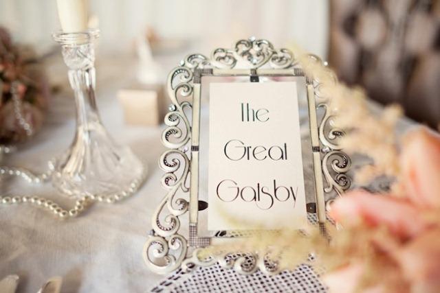 Golden 20s Great Gatsby Wedding Shoot