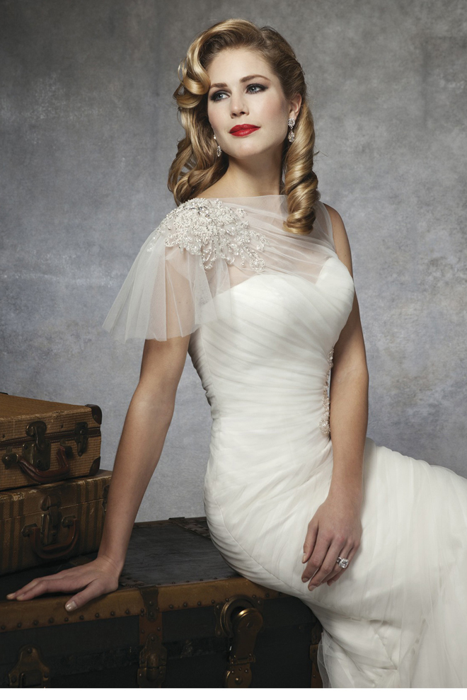 Picture of gorgeou wedding dresses inspire by 1930s and for Wedding dress 30s style