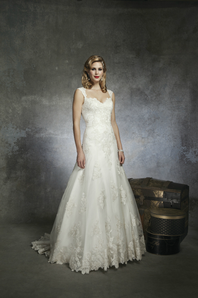 1950s Inspired Wedding Dresses : Gorgeou wedding dresses inspire by s and chic