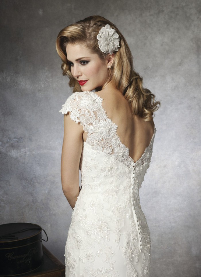 1950s Inspired Wedding Dresses : S and inspired gorgeous wedding dresses ? photo