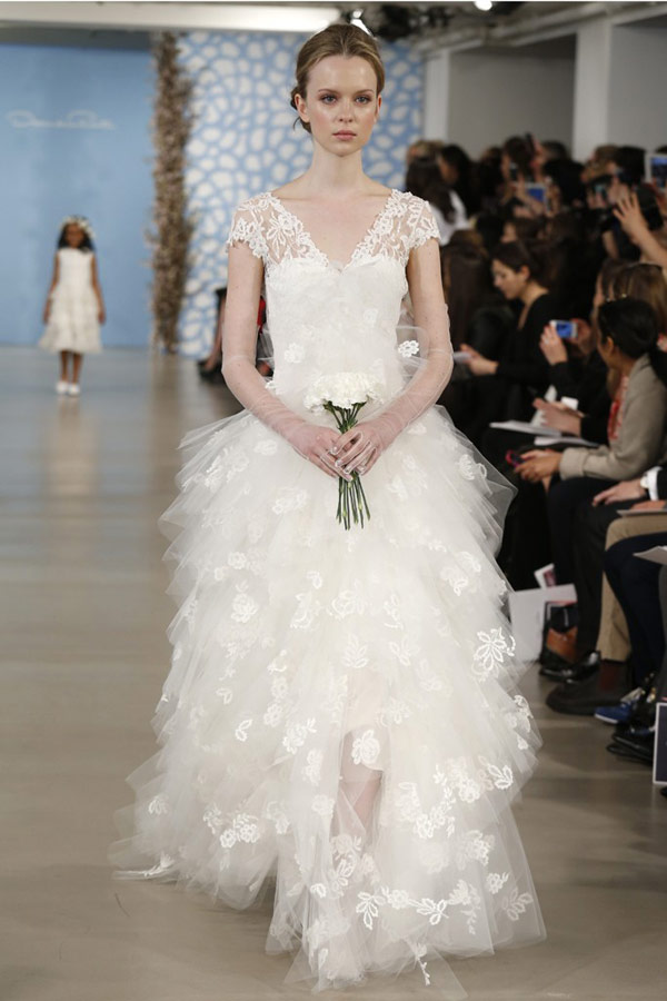 Rent A Wedding Dress Online 60 Fabulous Gorgeous Oscar De La