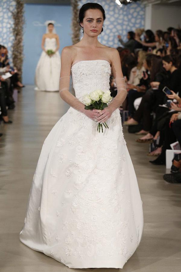 Rent A Wedding Dress Online 85 Great Gorgeous Oscar De La