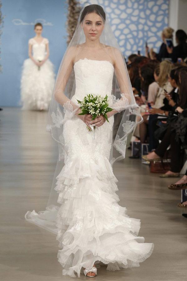 Rent A Wedding Dress Online 84 Awesome Gorgeous Oscar De La
